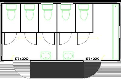 Grundrisse Wc Dusche Sanitar